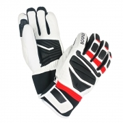 Bogner Siro Mens Ski Glove in Lava Red