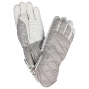 Bogner Bea Womens Glove in Soft Grey