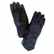 Bogner Bea Womens Glove in Dark Blue