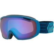 Bolle Tsar Ski Google in Matte Blue Patch With Aurora Lens