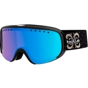 Bolle Scarlett Womens Goggle in Shiny Black Night with Photochromic Vermilion Blue Lens