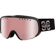 Bolle Scarlett Womens Goggle in Shiny Black Night with Vermillon Gun Lens