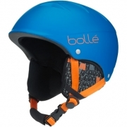 Bolle B-Free Junior Ski Helmet in Matte Blue Animals