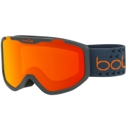 Bolle Rocket Plus Jr Ski Goggle Matte Dark Grey and Orange With Sunrise Lens