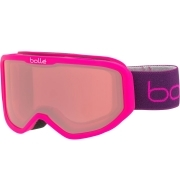 Bolle Inuk Kids Ski Goggle Matte Pink Monkey With Vermillon Lens
