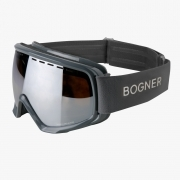Bogner Snow Goggles Monochrome in Light Grey