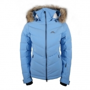 J.Lindeberg Watson Womens Ski Jacket in Silent Blue