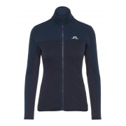 J.Lindeberg Hubbard Womens Midlayer Jacket in JL Navy