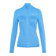 J.Lindeberg Hubbard Womens Midlayer Jacket in Silent Blue