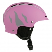 Bogner Junior Ski Helmet in Pink