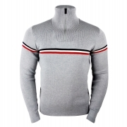 Fusalp Wengen II Mens Knit Sweater in Grey