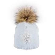 Steffner Sky Womens Ski Hat In Pale Blue