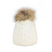Steffner Cindy Womens Ski Hat In Cream