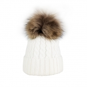 Steffner Mia Womens Ski Hat in Cream