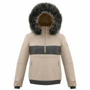 Povire Blanc Alice Smock Womens Ski Jacket in Sesame