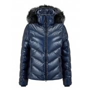 Bogner Sassy Womens Ski Jacket in Navy