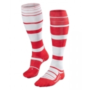 Falke SK4 Stripe Womens Ski Socks In Scarlet