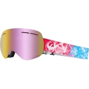 Dragon X1s Galaxy Ski Goggle with LumaLens Pink Ion and Dark Smo