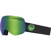 Dragon X1 Split Ski Goggle with LumaLens Green Ion and LL Amber