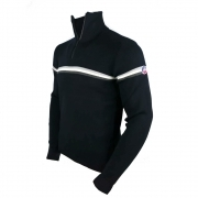 Fusalp Wengen II Mens Knit Sweater in Navy