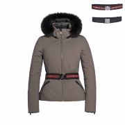 Goldbergh Hida Womens Ski Jacket in Earth