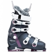 Fischer My Hybrid 90+ PBV Womens Ski Boot in Dark Blue