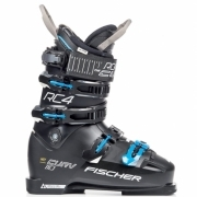 Fischer My Curv 110 Vacuum Full Fit Womens Ski Boot in Black