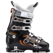 Fischer Hybrid W 10+ Vacuum Womens Ski Boot in Black