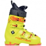 Fischer RC Pro 130 Vacuum Full Fit Mens Ski Boot in Yellow