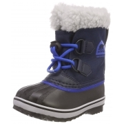 Sorel Yoot Pac Nylon Kids Snow Boot In Collegiate Blue