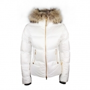 Bogner Cora D Womens Ski Jacket in White