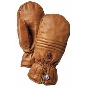 Hestra Leather Swisswool Classic Ski Mitt in Cork