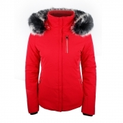 Poivre Blanc Ada Womens Ski Jacket in Scarlet Red