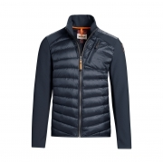 Parajumpers Jayden Mens Midlayer Top in Blue Black