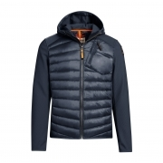 Parajumpers Nolan Mens Midlayer Top in Blue Black