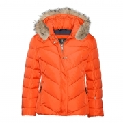 Bogner Sarina Girls Ski Jacket in Orange