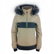 Povire Blanc Alice Womens Ski Jacket in Sesame