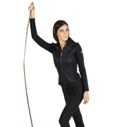 Fusalp Myrtille Full Zip Womens Midlayer in Black