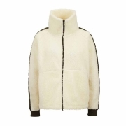 Bogner Elfi Womens Knit Midlayer in Cream