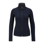Bogner Graze Womens Knit Midlayer in Navy