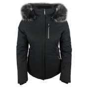 Poivre Blanc Ada Womens Ski Jacket in Black