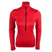 Goldbergh Serena Womens Baselayer Top in Poppy Red