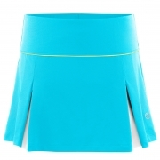 Poivre Blanc Womens Tennis Skort in Borabora Blue And White