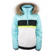 Poivre Blanc Alice Smock Girls Ski Jacket in Dream Blue