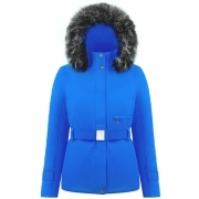 Beth Womens Jacket in True Blue