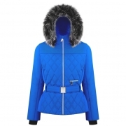 Bethany Womens Jacket in True Blue