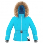 Betty Girls Jacket in Aqua Blue