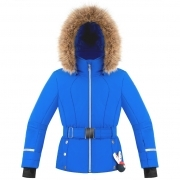 Betty Girls Jacket in True Blue