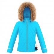 Bethany Girls Jacket in Aqua Blue