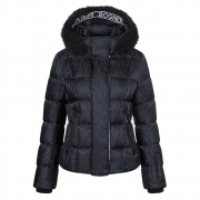 Dana D Womens Jacket in Black